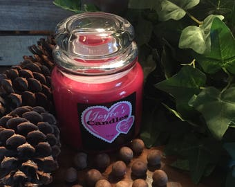 Handmade Baked Apple Pie 16 oz Soy Candle