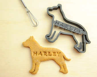 Pit bull Cookie Cutter PitBull Custom Treat Personalized Pet