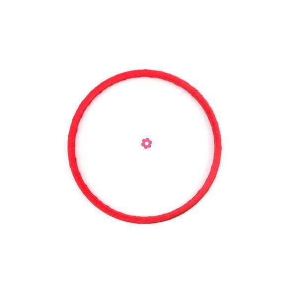 x3 anneau cercle rouge 7cm pour attrape r ve dream. Black Bedroom Furniture Sets. Home Design Ideas
