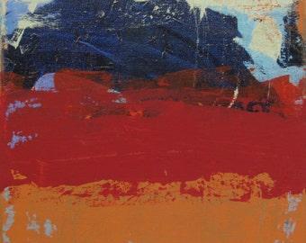 Red & Orange Landscape