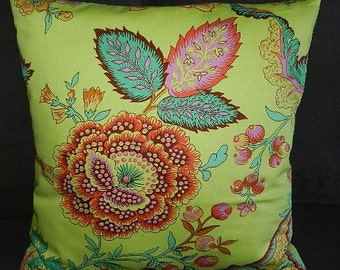 1 Size Available - Amy Butler Soul Blossom  Night Tree Pillow Cover