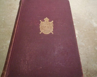 EXRARE 1894 The Count Of Monte Cristo by Alexander Dumas Edmund Dantes Revenge Clean Book