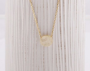 Circle / Round / Eternity / Necklace / Pendant / Gold / Hipster / Trendy / Everyday / Simple / Dainty / Minimalist / Petite