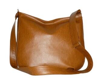 leather crossbody bag brown, leather hobo bag brown, messenger bag brown, brown hobo bag, brown leather crossbody bag, brown hobo, 5534