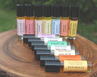 Perfume Oil, Essential Oils perfume oil,  You pick any (3) ,  Natural Perfume Oil, Aromatherapy perfume oil.