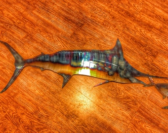 Stainless steel Blue Marlin