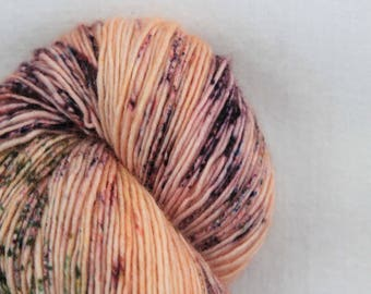 Hand-dyed yarn - sock yarn - superwash - merino - dyed-to-order - speckles - PETITE