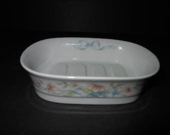 Princess House Fine Porcelain Vintage Soap Dish
