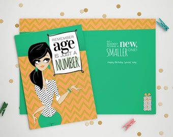 Age Is Just a Number - Birthday