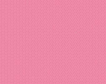 Circle Dot Hot Pink from Riley Blake - 1/2 Yard