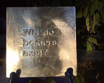 Why do borders exist?