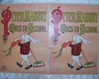 Peter Rabbit Goes To School
