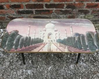 Retro/Vintage Kitsch Taj Mahal Coffee Table