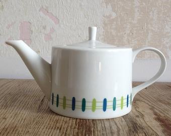 """Porcelain pot teapot by Melitta, series """"Zürich"""" 1Liter"""
