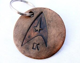 Personalized Keychain Star Trek