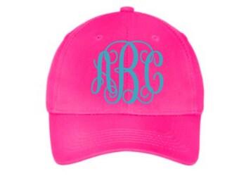 Youth Monogram Hat, Youth monogrammed hat, youth hat, personalized hat, kids hat, Monogrammed youth hat, Baseball cap for kids, Hat for Kids
