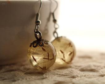 Make a Wish Orb Earrings