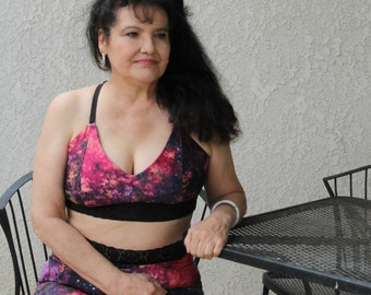 PDF Sewing Pattern Ororo Bralette, Bralette pattern, lingerie pattern, plus size, maternity, nursing