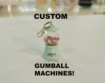 Made To Order Custom Gumball Machines!