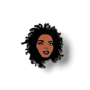 Miss Education Lapel Pin - Hard Enamel - Hip Hop Pin - Rap Pin - Music Pin