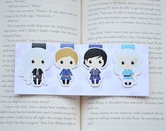Celaena and companion magnetic bookmark