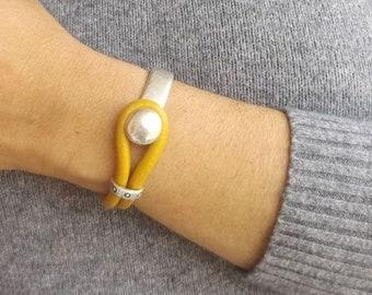 Leather bracelets for women, bracelets for women, leather bracelet, women leather bracelet, beaded bracelet, boho bracelet