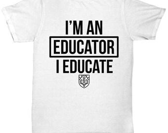 Educator Tee Shirt- Cool Tee Shirt Graphic Design