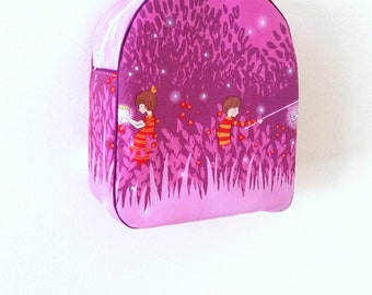 Childrens Backpack, Preschool Backpack, Kindergarten Backpack, Kids Backpack, Dayare Backpack, Toddler Backpack, Fireflies