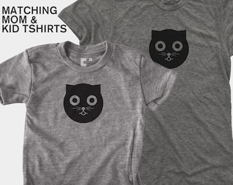 Watson the Cat - Matching Shirts (Women & Kid)