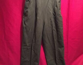 U.S Army Vietnam War Era 1975 dated Women's Trousers