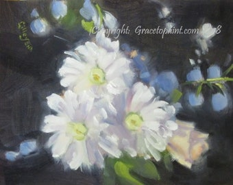 Floral Affair II...Original Oil Painting by Maresa Lilley, SND