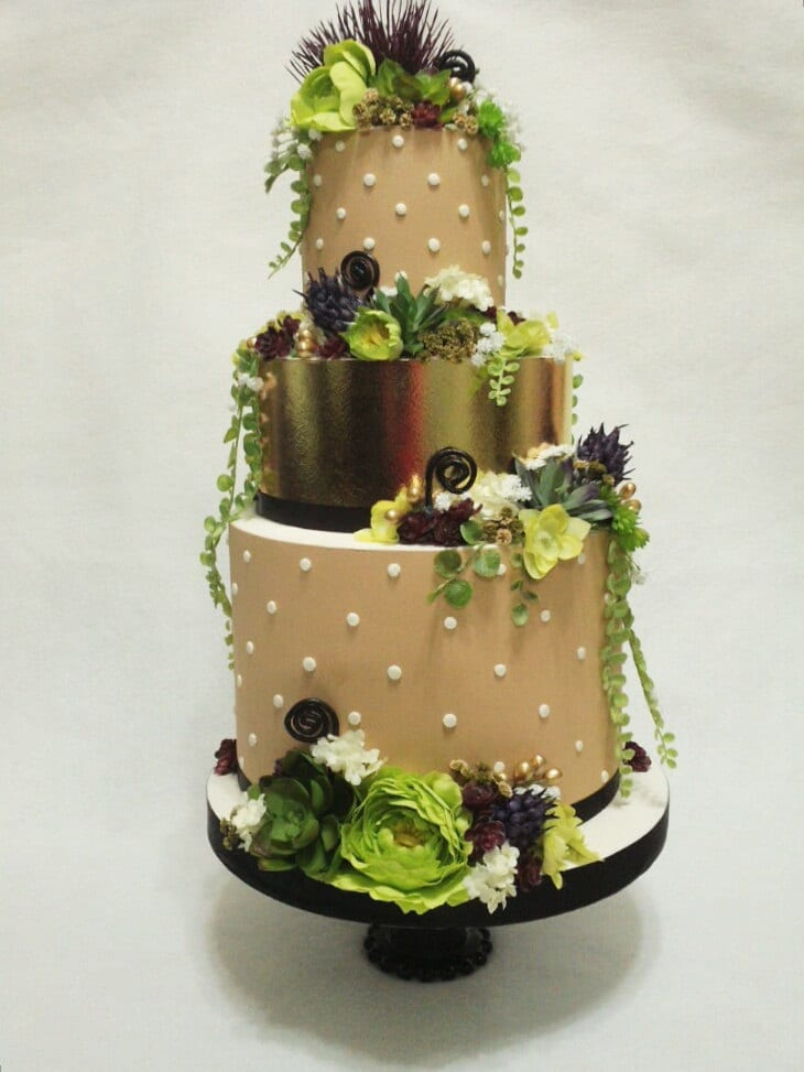 artificial wedding cake cake succulent wedding cake artificial display cake 10845