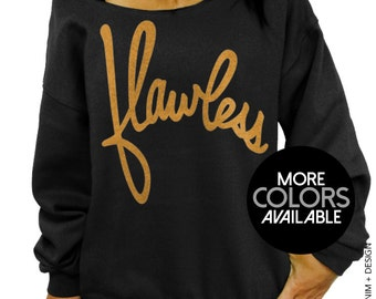 Flawless Sweatshirt - Slouchy Oversized Sweatshirt - More Colors Available