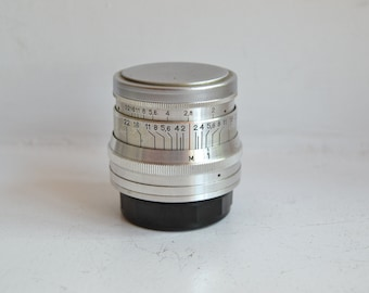 JUPITER-8 2/50 Russian Lens M39 Fed Leica Sony NEX S/N 6014843, 1960 year!