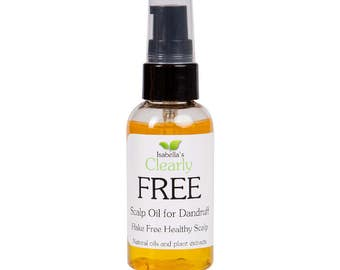 Clearly FREE, Natural Dandruff Treatment for Dry Scalp. 2 Oz.