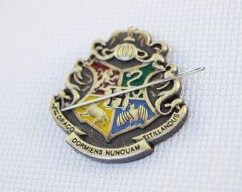 Hogwarts Needleminder / Harry Potter Inspired Needleminder