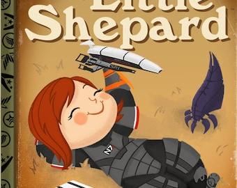 The Good Little Shepard - FemShep - 8x10 PRINT