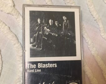 The Blasters Hard Line Cassette Tape Music