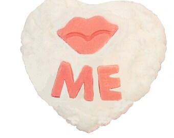 Kiss Me Heart Soap-Lips Soap-Cupcake Soap-Valentine Soap-Mother's Day Soap-Anniversary Soap-Father's Day Soap-Glycerin Soap-Heart Soap