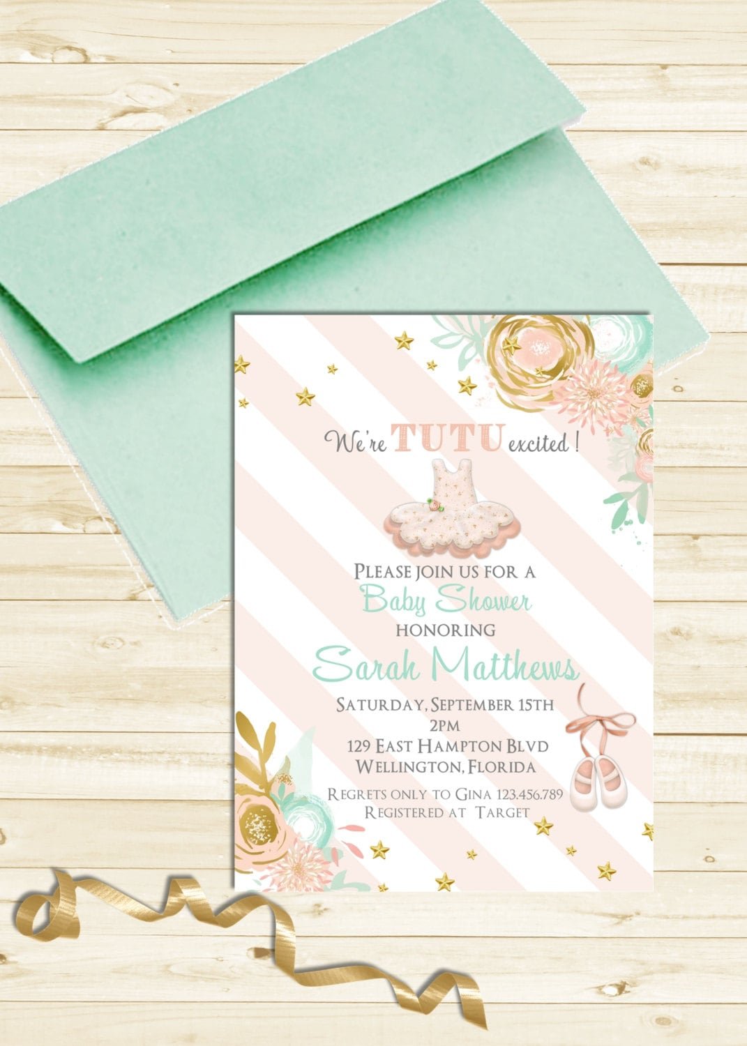 horse baby invitations pink pin and invitation shower gold showers
