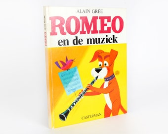 Vintage Children's books-Romeo and the music-Alain Grée, 1967