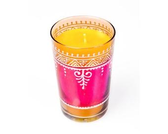 Tea Glass Pink