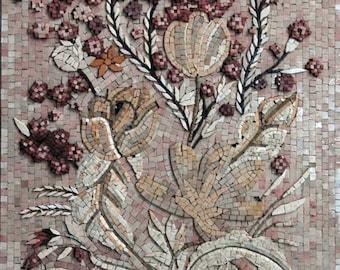 Decorative Stone Art Mosaic Floral