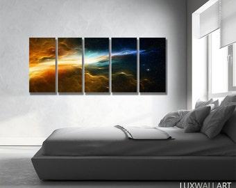 Nebula Galaxy Nasa Art Print