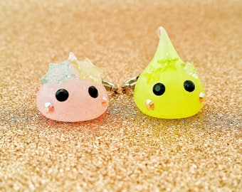 Star Crown Hoppe Chan// Silicone Planner Charm// Hoppe Chan Planner Charm