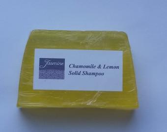 Naturel respectueux de l'environnement à la main Soild shampoing Tea Tree et menthe poivrée/camomille et citron