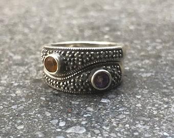 Vintage Sterling Silver Stackable Rings