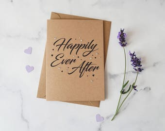 Happily Ever After Kraft Romance Card