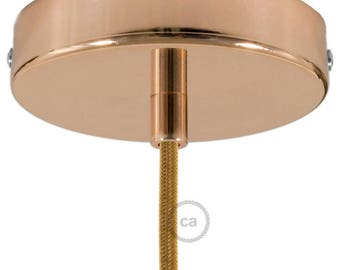Copper Cylinder Canopy Kit, bracket, screws and cable retainer