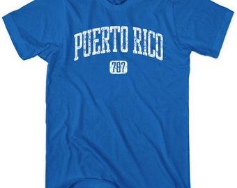 Puerto Rico 787 T-shirt - Men and Unisex - XS S M L XL 2X 3X 4X - 4 Colors
